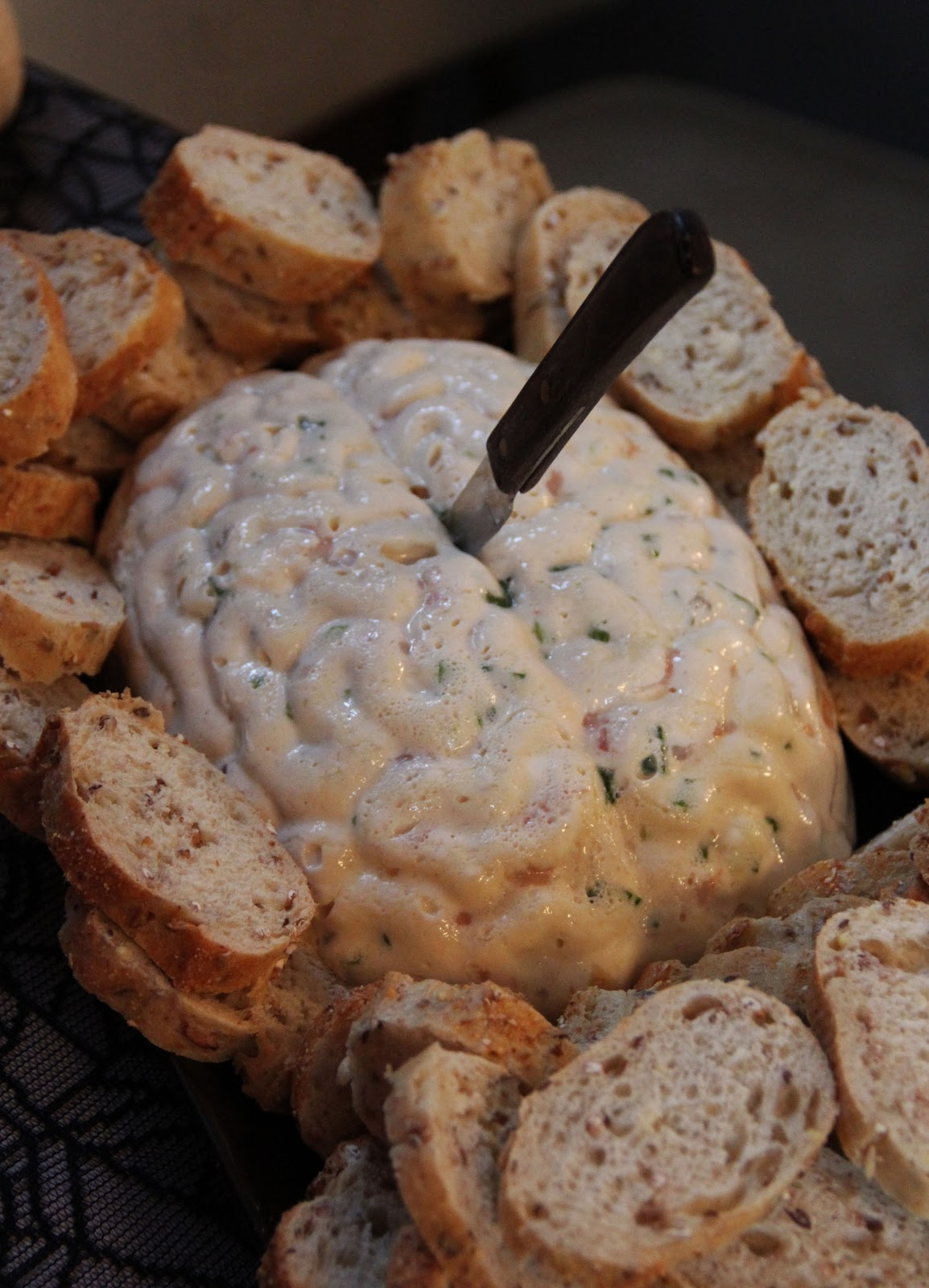 Brain Dip   Halloween Appetizers That Are Dreadfully Inviting   Homemade Recipes