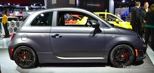 Fiat 500 Abarth Tenebra Concept Car