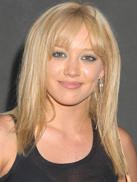Hilary Duff's slightly texturized strands have tons of smooth volume