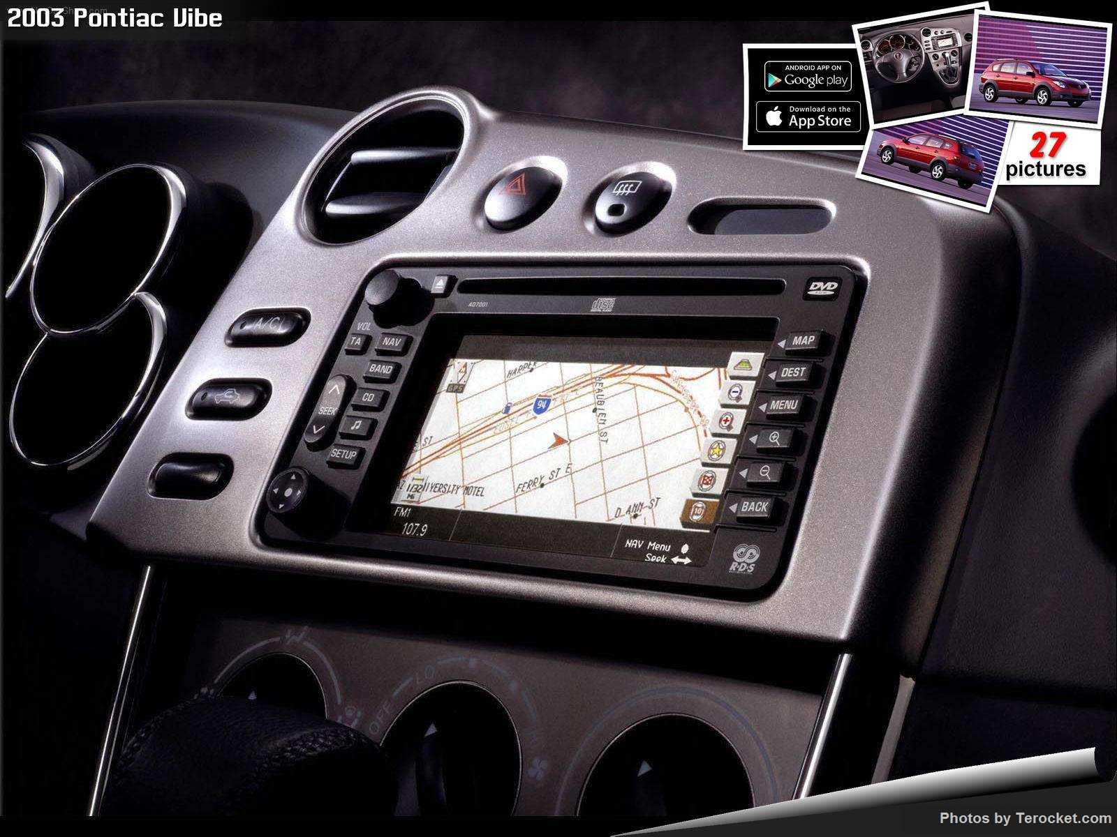 Hình ảnh xe ô tô Pontiac Vibe 2003 & nội ngoại thất