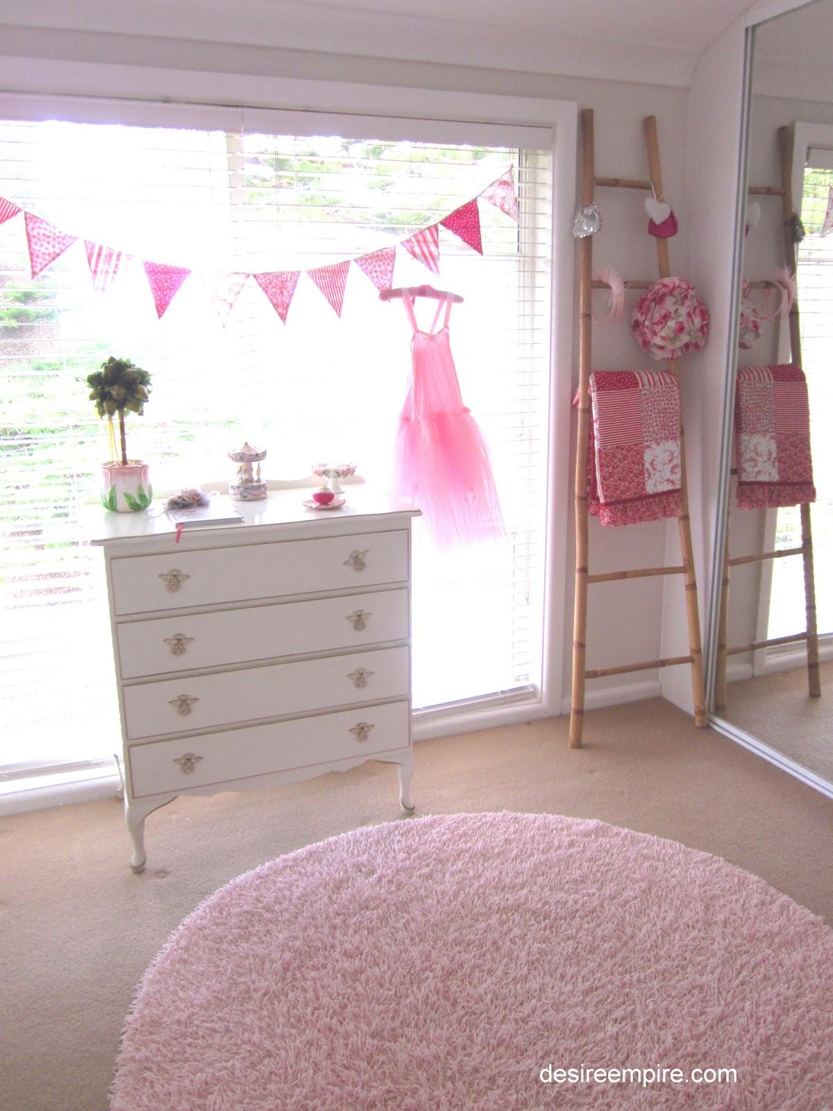 My little girl 39 s bedroom reveal desire empire - Years old girl bedroom ...