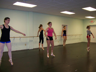 pointe ballet lessons charlotte north carolina