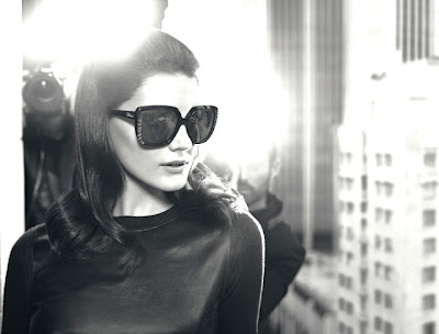 Mila Kunis - the Sexiest Woman Alive 2012 wearing Dior Sunglasses in publicity shot for Dior eyewear's Fall/Winter 2012-2013 Campaign