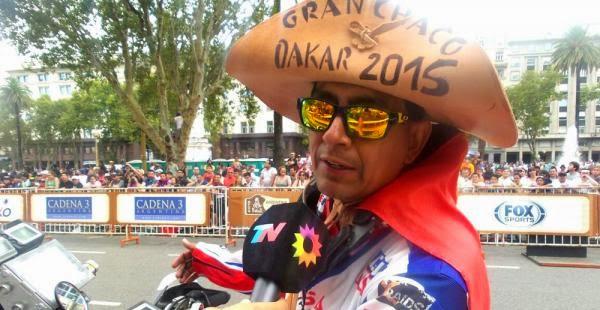 Dakar Por Bolivia - Fabricio Fuentes - Rally Dakar 2015