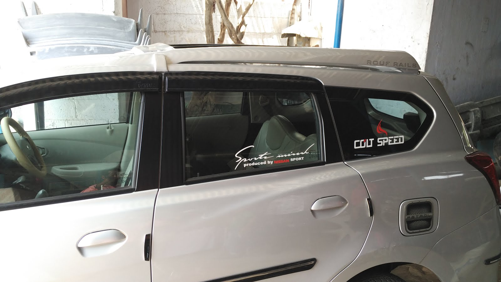 Datsun Go Plus Roof Luggage Carrier