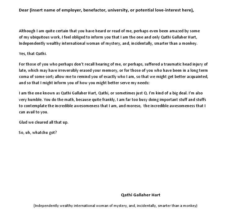 Cover Letter Guidelines - Salmon P Chase College of Law