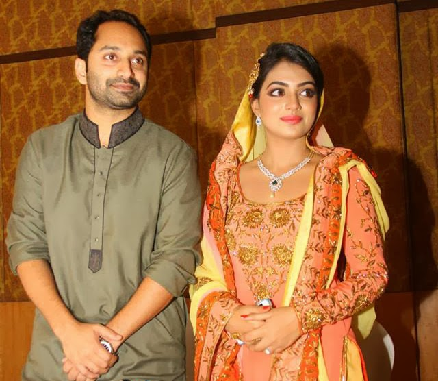 Fahadh and Nazriya Engagement