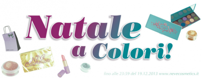 Neve Cosmetics - Natale a Colori!