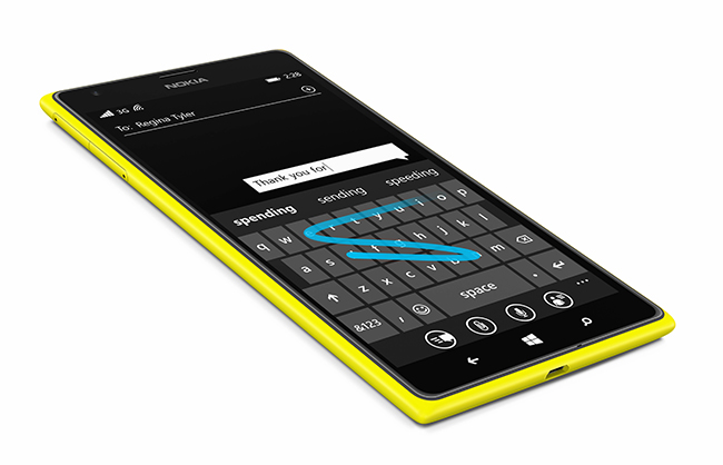 Word Flow Smartphone Keyboard