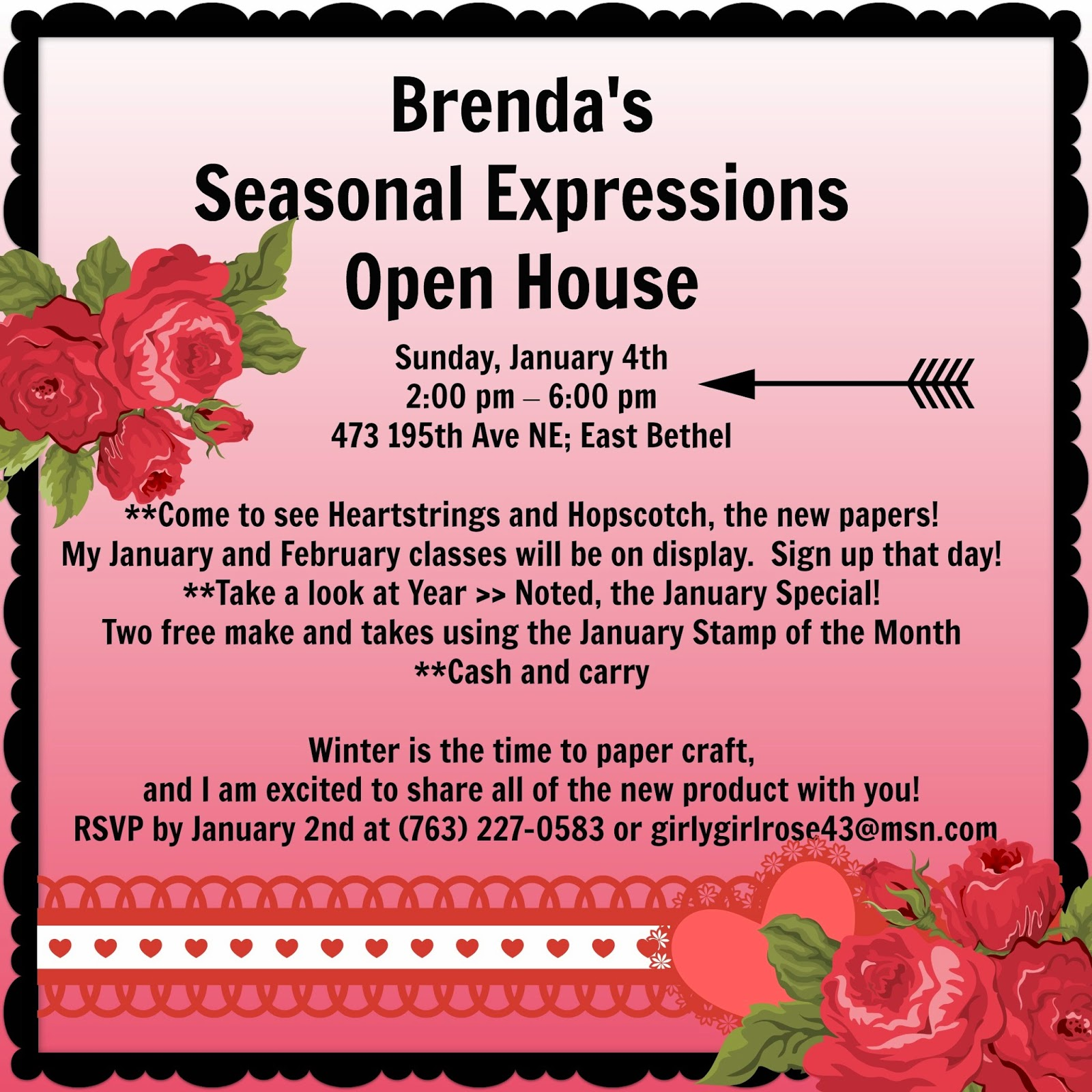 Rose blossom legacies december 2014 seasonal expressions open house m4hsunfo