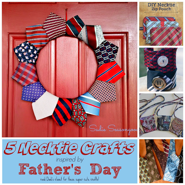 While I'm Waiting...5 necktie crafts inspired by Father's Day