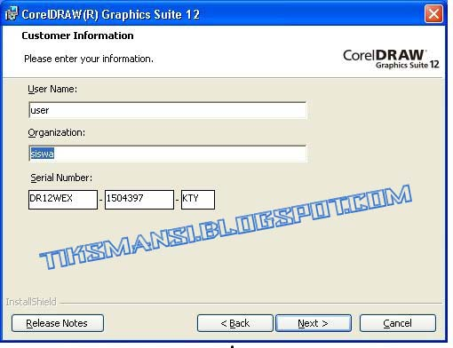 corel draw 12 full serial number and activation code