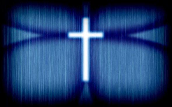 symbole facebook croix