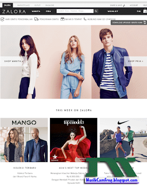 daftar toko online terpercaya zalora.co.id