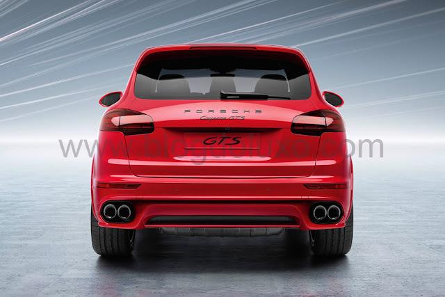 2015 Porsche Cayenne GTS