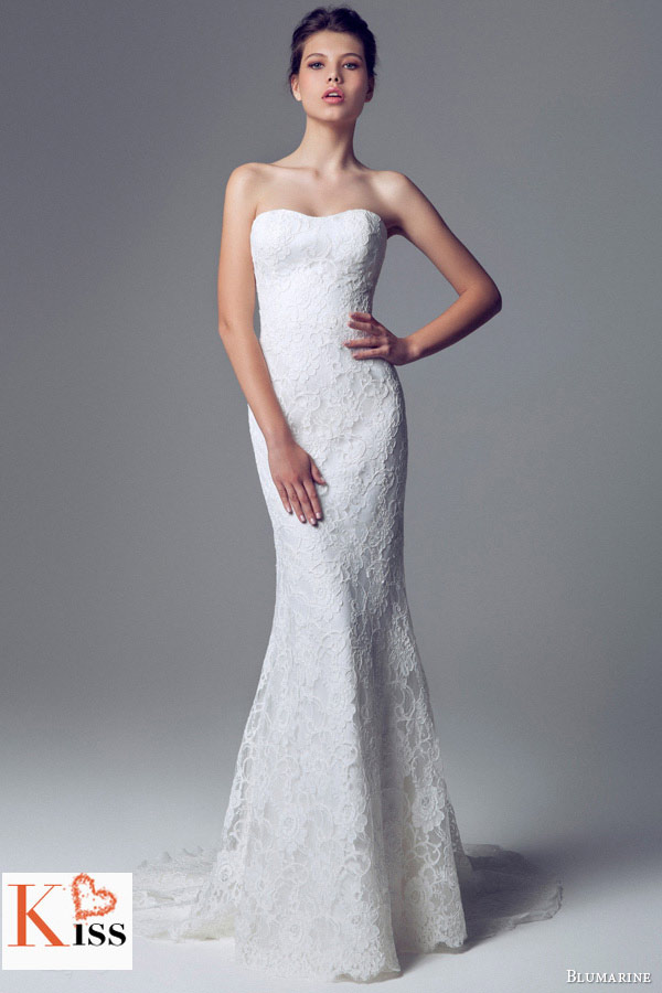 Lace 2014 Wedding Dresses Collection From Blumarine