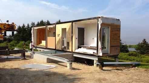 Casas contenedores casas contenedores meka - Casas prefabricadas de contenedores ...