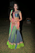 Manasa Glamorous Photos in Half saree-thumbnail-7