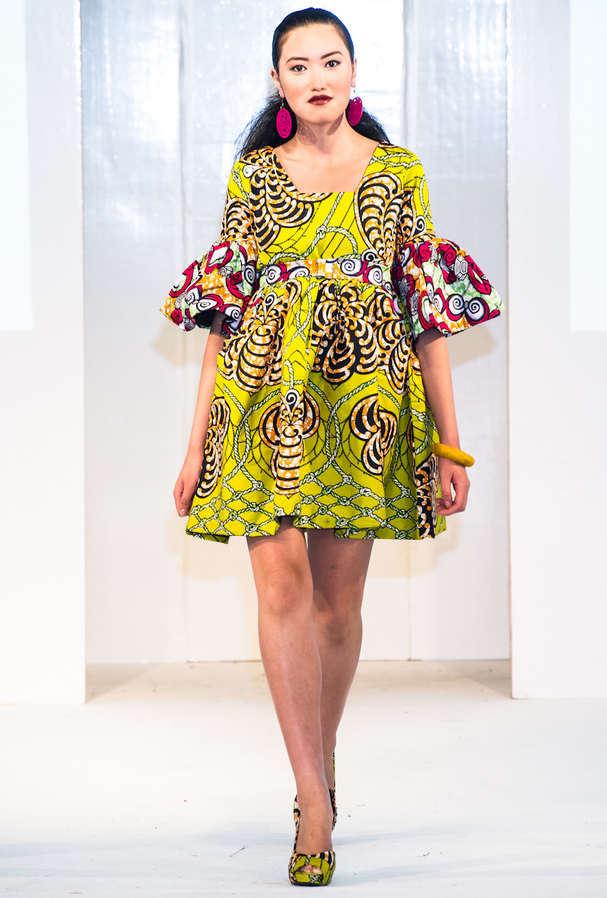 Afroccentric Fashion Blogs Kiki Clothing At Africa Fashion Week London 2012