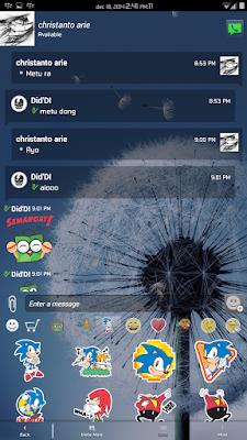 BBM Mod v2.6.0.30 Full Transparent Apk