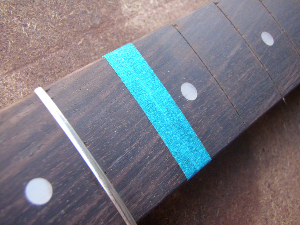 Hofner Colorama II restoration project (part 3) - re-fretting the ...