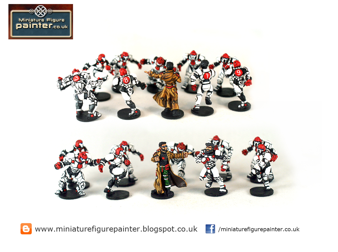 DreadBall: the Trontek 29ers in Red and White