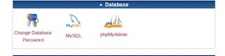 icon phpmyadmin