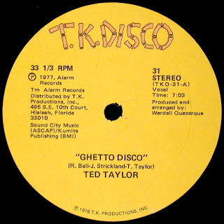 Ted Taylor - Ghetto Disco