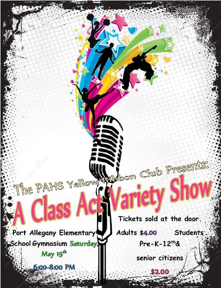 5-19 A Class Act Variety Show