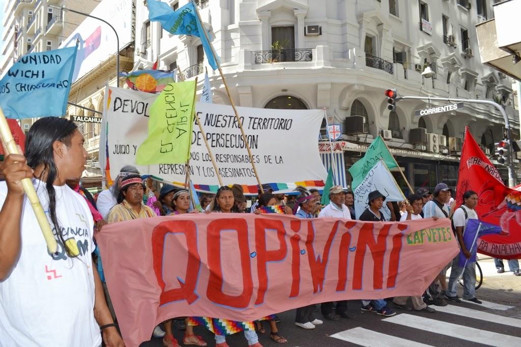 Voces del Pueblo Nasa respaldan la lucha de los pueblos originarios de Argentina