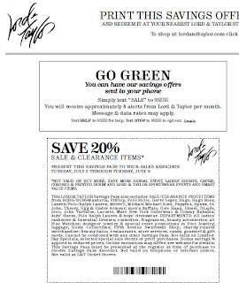 Lord & taylor coupon code