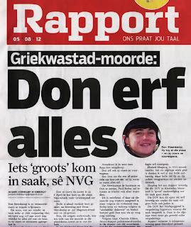Rapport Headlines: 5 August 2012