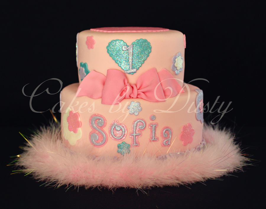 Cakes By Dusty Sofias 1st Birthday