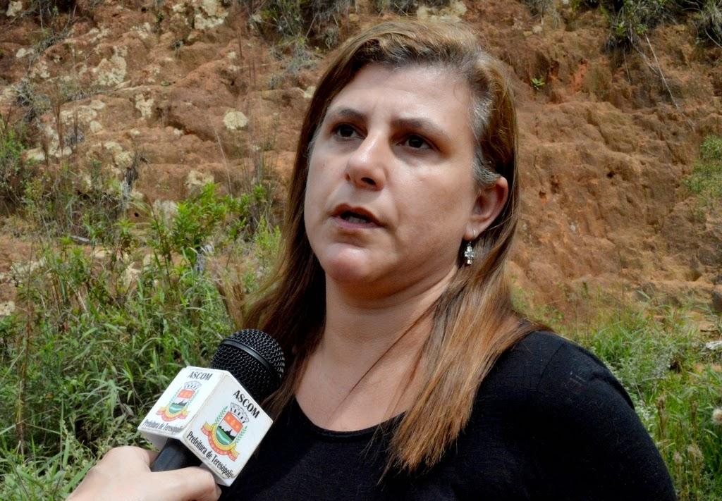 Secretária de Planejamento, Silvana Pires, destaca que Teresópolis ser escolhida para implantação do projeto pioneiro reforça o bom relacionamento entre o governo do Estado e a Prefeitura