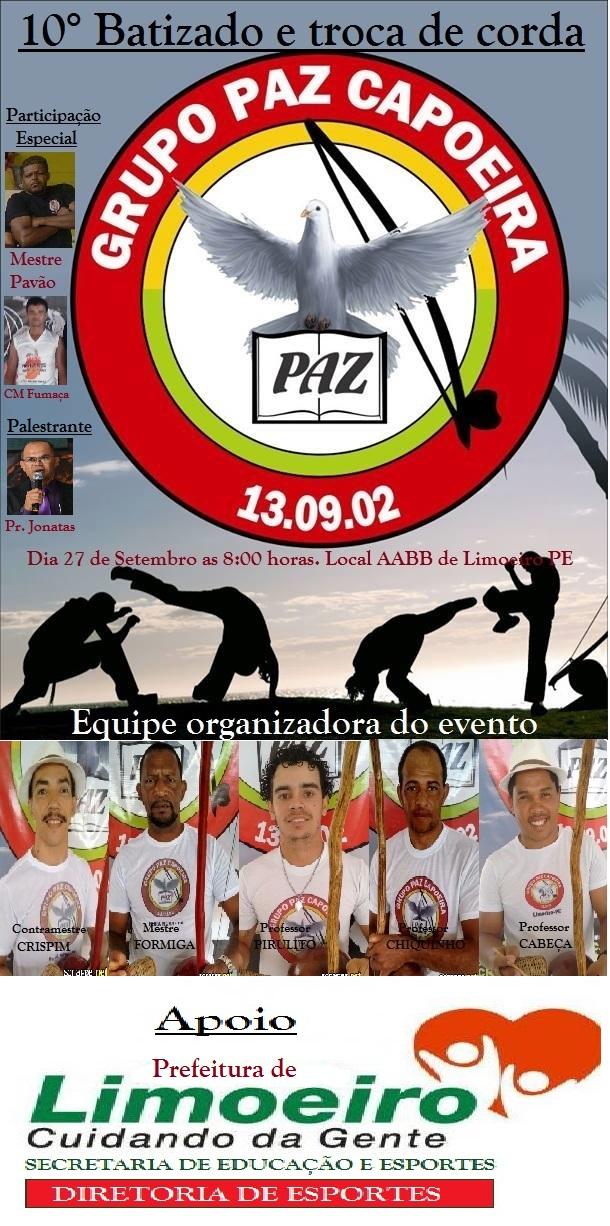 Prefeitura de Limoeiro incentiva roda de capoeira