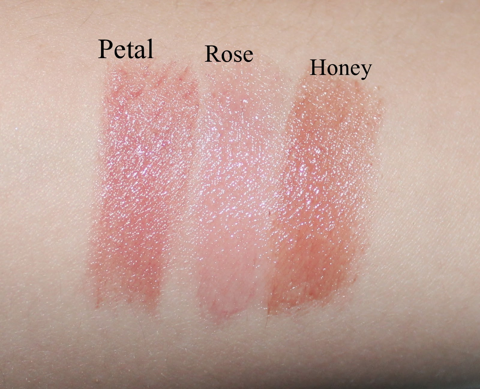 Fresh Sweet Nudes Gift Set Swatches