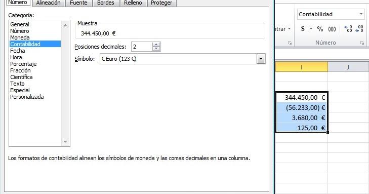 Mundo Excel Formato De Contabilidad