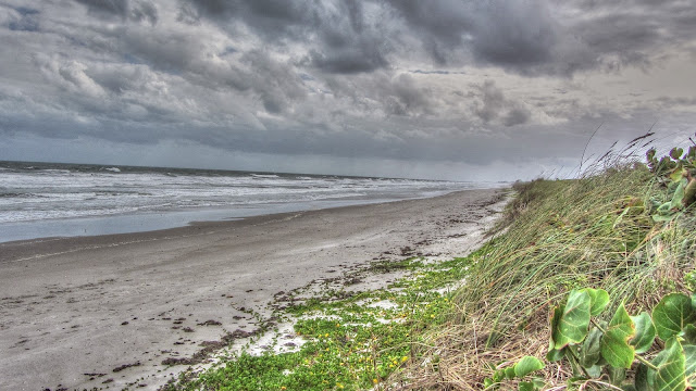 High Surf, Strong Winds and Beach Erosion Along the East Coast of Florida