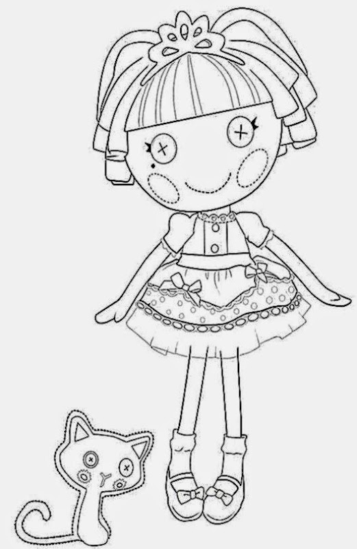 Lalaloopsy coloring pages free coloring pictures for Free printable lalaloopsy coloring pages