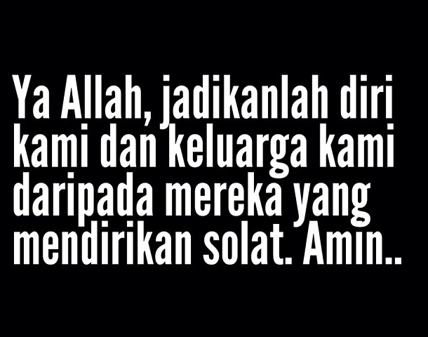 DIRIKANLAH SOLAT