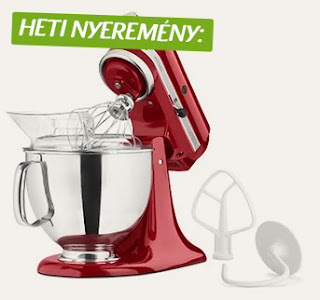 Kitchen Aid Artisan nyeremny