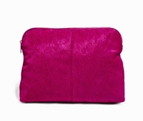ASOS Pony Skin Clutch £30