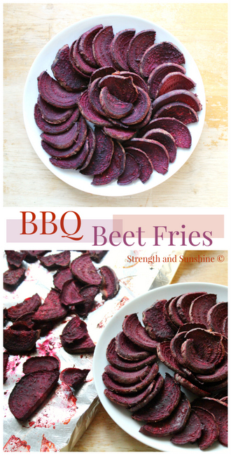 BBQ Beet Fries from Strength and Sunshine
