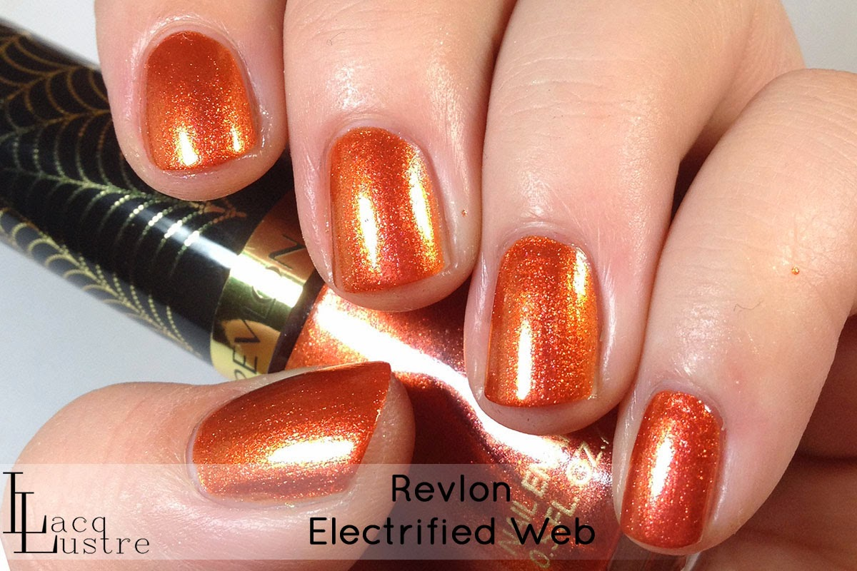 Revlon Electrified Web swatch