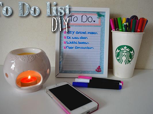 TO DO LIST ♥ DIY ♥