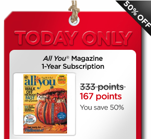 http://www.mycokerewards.com/rewards/all-you-magazine-1year-print-subscription-wednesday-deal/29658