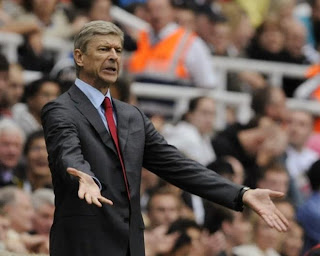 Arsene Wenger Arsenal Frustrated