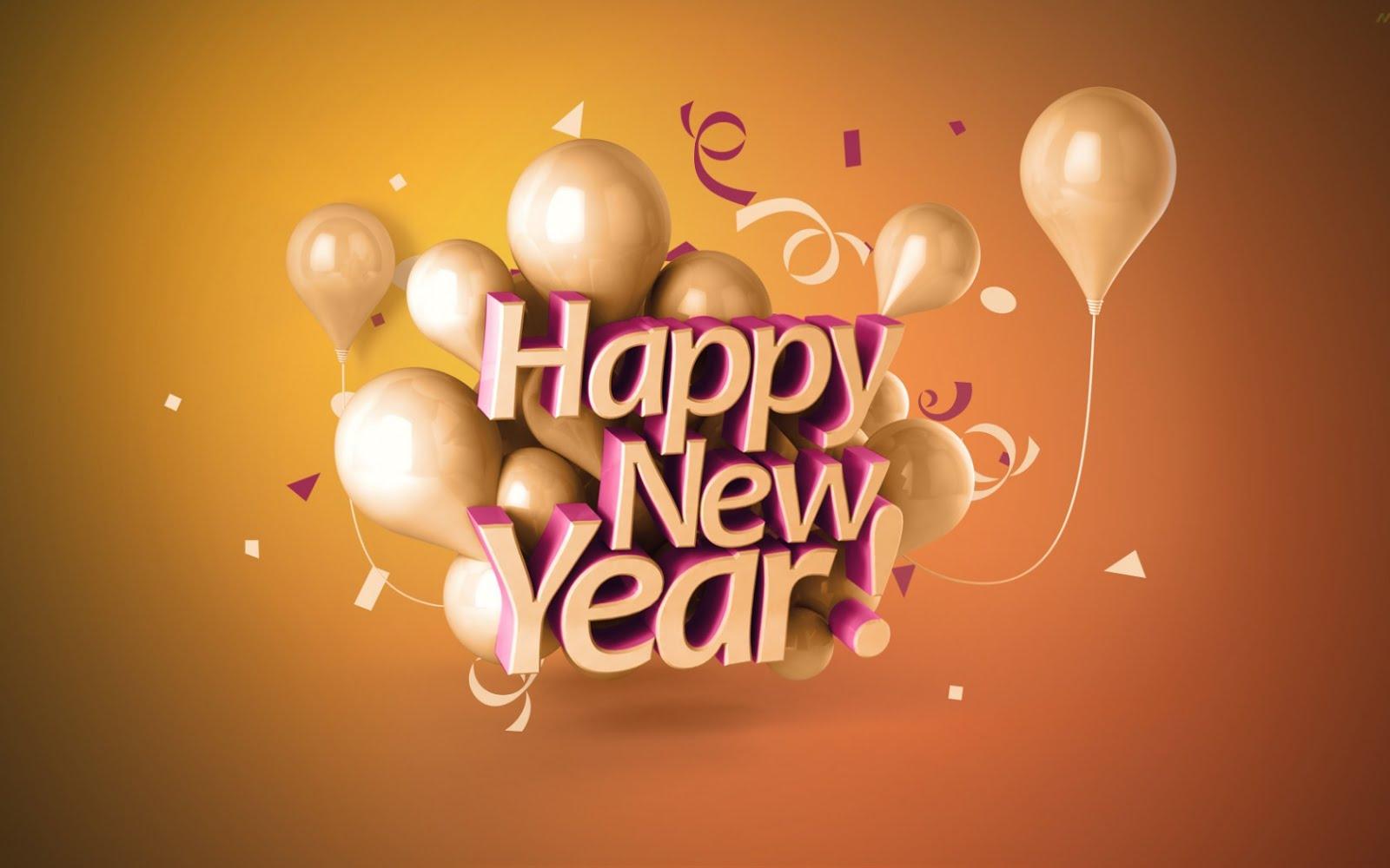 Wallpaper download karne ka app - Happy New Year 2017 Balloon Images