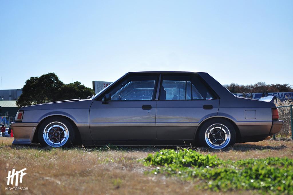 Mitsubishi Lancer II, japońskie sedany, auta z lat 80, ciekawe samochody, turbo