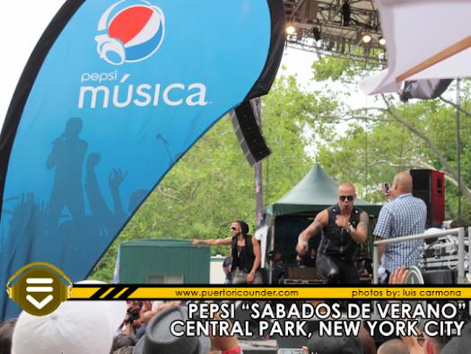Video de Wisin & Yandel en Pepsi Musica Sabados de Verano
